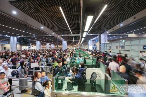 资料图:澳门出入境口岸。图片来源:澳门特区政府网站