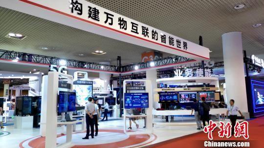 "IoTF厦门物博会11日开幕,探索5G时代下""万物互联""。 杨伏山 摄"