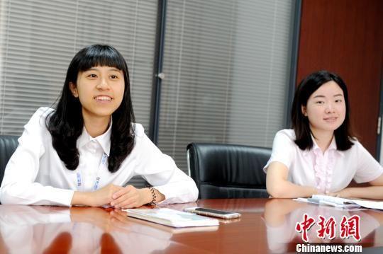 台大学生登陆实习:想来大陆就业