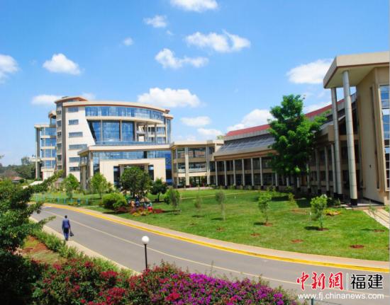 肯尼亚金融研究学校外景。