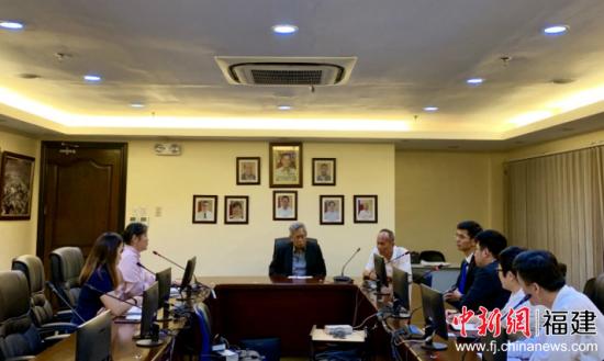 福州港务集团代表团访问菲律宾宿务。