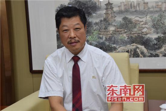 美国福建琯头联合总会议长郭绍铨言。记者 陈佳丽 摄