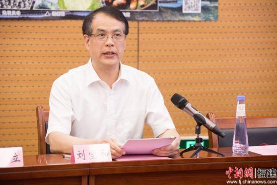 4、省国资委副主任刘宝和主持会议。李南轩 摄