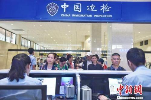 资料图:中国边检。范海超 摄