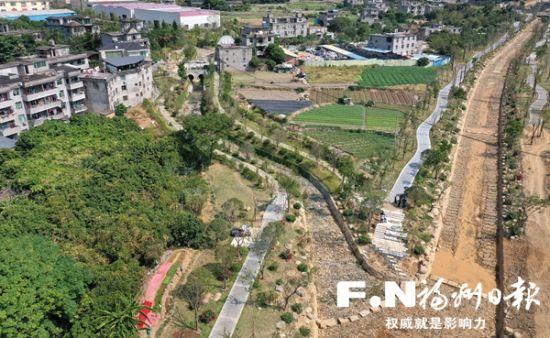 """福州新店片区水系唯一断年轮歌词点打通 9条河道实现""""抱团"""""""
