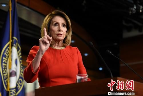 资料图:美国国会众议院议长、民主党人南希・佩洛西。中新社记者 陈孟统 摄