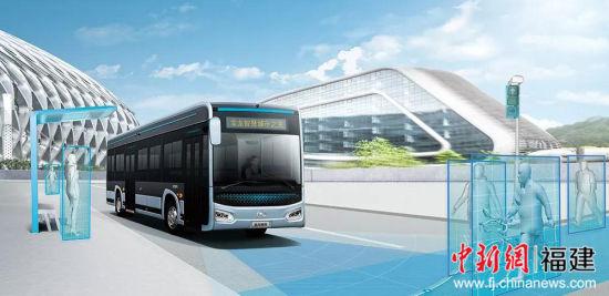 金龙客车5G智能网联公交 智慧城市之光