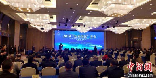 """2019""""丝路海运""""年会19日在厦门举行。 杨伏山 摄"""