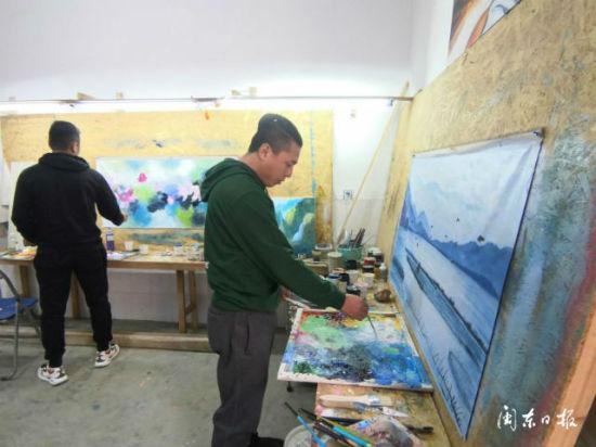 霞浦长沙:用画笔绘就新生活