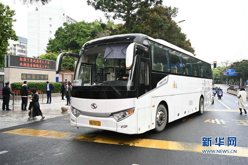 福建:公交定制专线为学生提供安