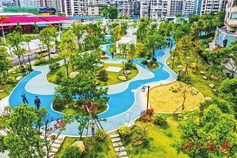 福州已建成串珠公园553个