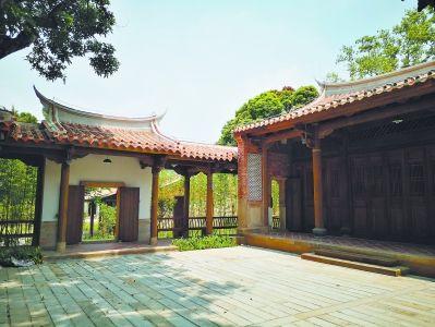 复建后的小山丛竹书院古朴典雅。