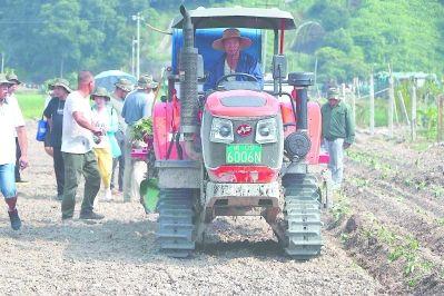 福建福安举行农机新机具新技术推