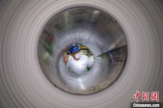 陈富泽见证了大陆钢铁工业的发展轨迹。 李思源 摄