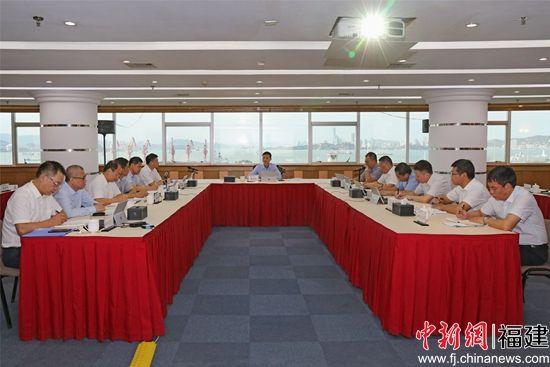 漳州开发区举行企业家座谈会问题处理情况汇报会