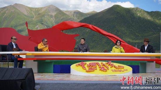 参与节目录制的专家左起:白钢、温铁军、江宇、李玲