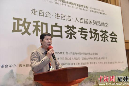 县委常委、政法委书记、县茶产业领导小组组长王延忠致辞