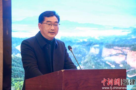 图为泰宁县委副书记 廖晶波。李南轩 摄