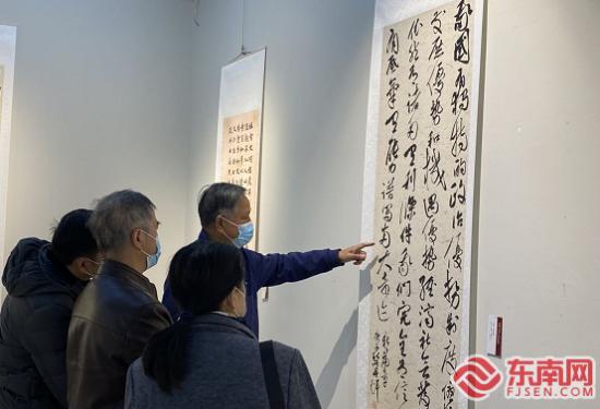 市民观展 东南网记者陈楠 摄