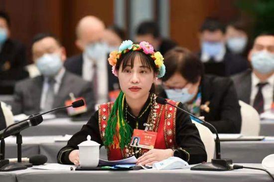 全国人大代表、福建武夷烟叶有限公司办公室主任黄蕾 受访者供图