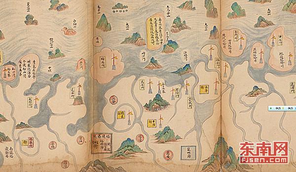 贵军事地图重现福州图片