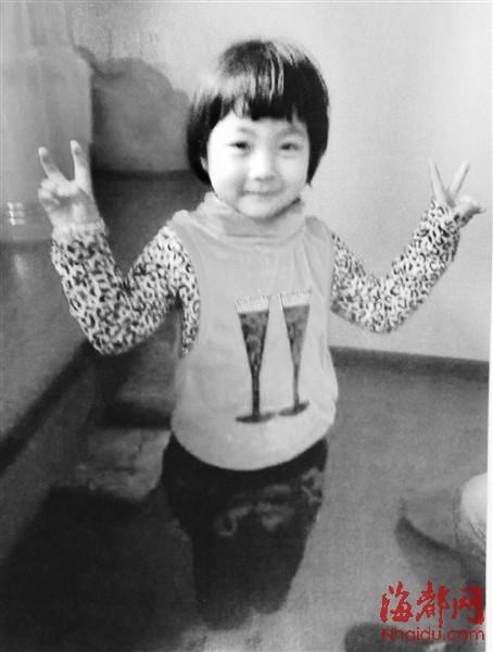 小女孩生前照片-莆田六岁女孩只因一句话 被亲生母亲杀死