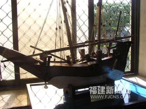 辛巴达航海时所用的阿拉伯船