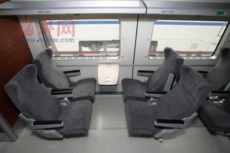 高铁靠窗户的座位号