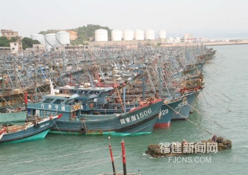 漳州东山岛1259艘渔船休渔