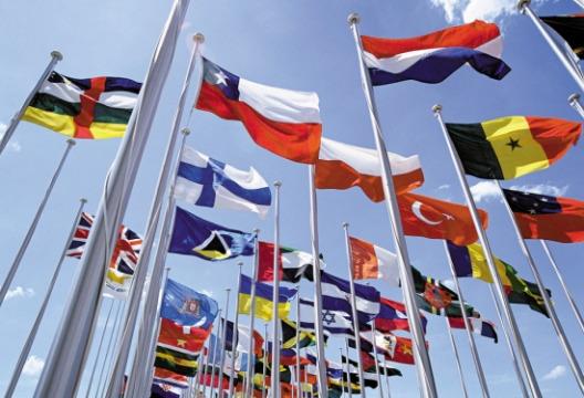 旗帜印刷图片