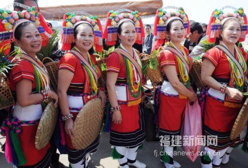 台湾花莲原乡舞蹈团成员福州
