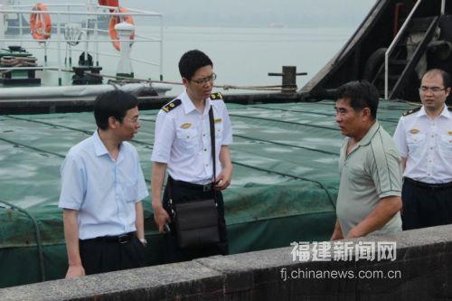 福建新闻网·宁德海事局端午节假期检查水上