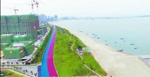 铺上彩色沥青马拉松跑道亮相 厦门滨海旅游浪漫线将提升