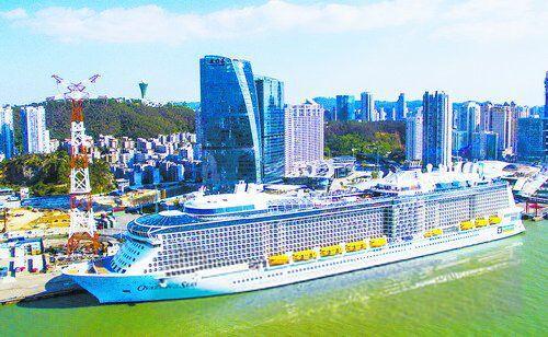 """厦门国际豪华邮轮 """"天海新世纪""""号起航运营"""