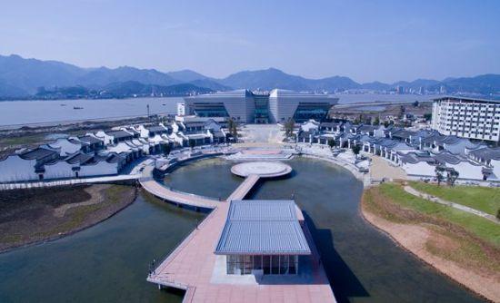 福州海峡青年交流营地一期工程月底完工