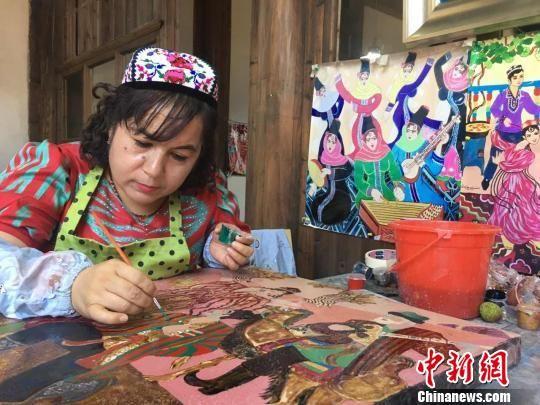 当农民漆画遇上文创IP:艺术成精准扶贫直接生产力