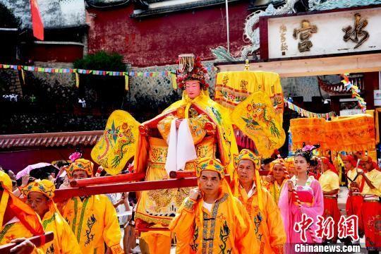 陈靖姑文化节开幕 两岸300余信众共叙根脉相连情缘