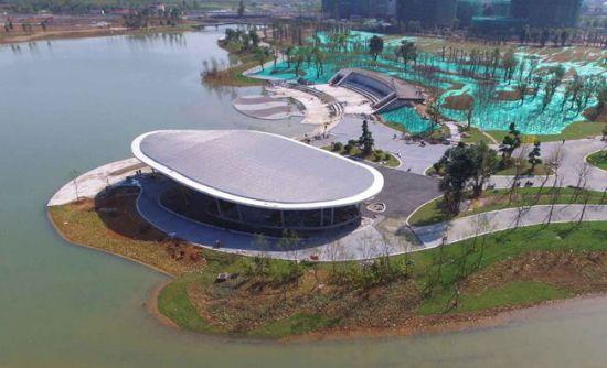 福州琅岐红光湖公园下月迎客