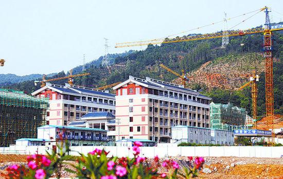 """龙岩市在中心城区大锦山麓高起点规划建设""""教育城"""""""