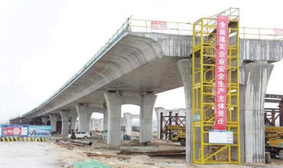 翔安机场快速路南段后年建成 长4.4公里双向六车道