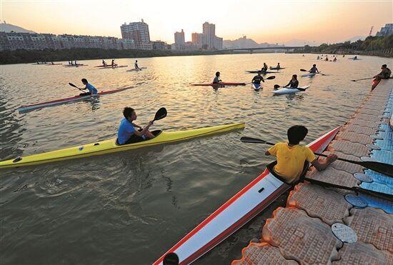 水上运动:划出来的荣耀