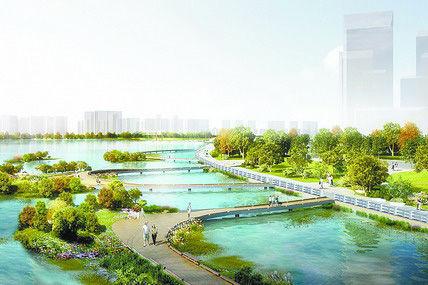厦门海沧湖环湖绿道将贯通 成市民休闲又一好去处