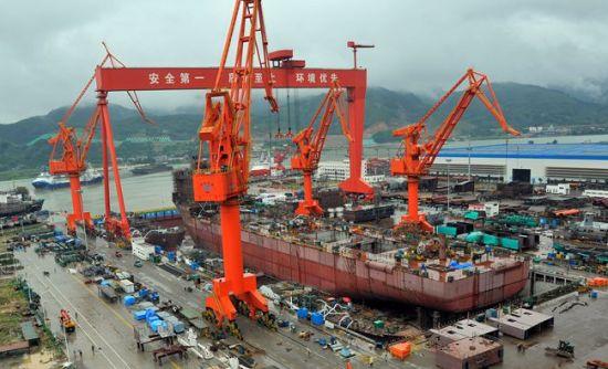 马尾造船厂建造的国内首艘出口型饱和潜水支持船本月交付