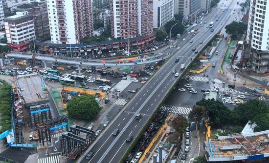 福州6大缓堵项目3项有望提前完工