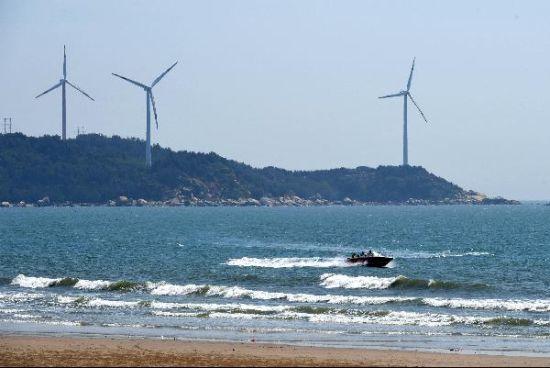 澳门正规赌博网站大全漳浦六鳌风电场蔚为壮观