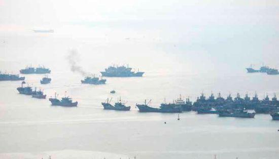 澳门正规赌博网站大全石狮祥芝560艘渔船开渔出海