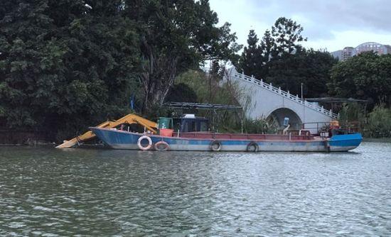 澳门真人博彩娱乐官网西湖清淤计划下月完成
