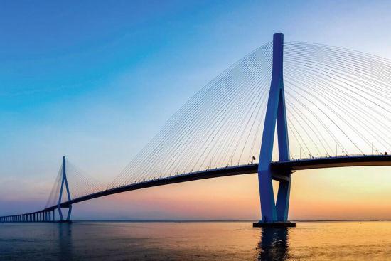 在漳州相逢厦漳跨海大桥