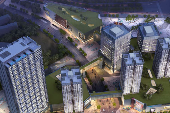 澳门真人博彩娱乐官网苏宁广场将建3条空中天桥走廊