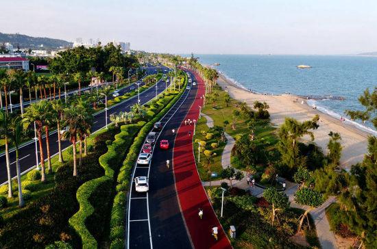 厦门环岛路邀世界宾客体验滨海风情
